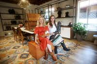 Sisters Sarah Means and Lizzie Means Duplantis are co-founders and co-owners of Miron Crosby, a made-to-order boot brand located in Highland Park Village. (Andy Jacobsohn/Staff Photographer)