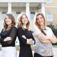"""<p><span style=""""font-size: 1em; background-color: transparent;"""">University of North Texas 2016 graduates with majors in merchandising and digital retailing students Katelyn Patrick, Nichole Fallis and Mckenzie Hibler.</span><br></p><p>Courtesy photo University of North Texas</p>"""