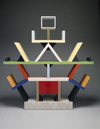 "<p>The ""Carlton"" room divider, designed in 1981 by Ettore Sottsass, has been featured in the former <span style=""font-size: 1em; background-color: transparent;"">modern and contemporary design gallery at the Dallas Museum of Art. </span></p>(Dallas Museum of Art)"