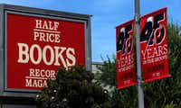 The Half-Price Books in Dallas, Friday, July 28, 2017. (Jae S. Lee/The Dallas Morning News)(Jae S. Lee/Staff Photographer)
