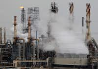 The Exxon Mobil Baytown Complex is in South Texas.(Mayra Beltran/Houston Chronicle)