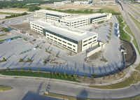 Raytheon's Richardson campus houses about 1,700 workers.(KDC)
