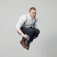 Jon Gnarr, author of <i>The Outlaw</i>.(Hordur Sveinsson)