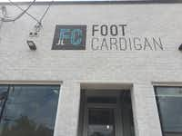 Foot Cardigan's headquarters is in Dallas' Design District.(Maria Halkias/Staff)