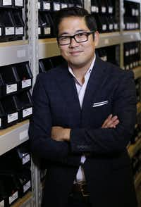 Paul Song, former president of Dallas-based Cufflinks.com, last year he co-founded Detail Provisions. (David Woo/Staff Photographer)