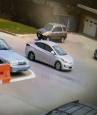 Serial bank robber suspect vehicle(Fort Worth Police Department)