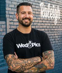 "Justin Miller is CEO and co-founder of WedPics, a company that allows wedding guests to share photos and videos. When HB2 passed, he got angry emails and online reviews because the company is headquartered in North Carolina. (<p><span style=""font-size: 1em; background-color: transparent;"">Courtesy of Justin Miller</span></p>)"