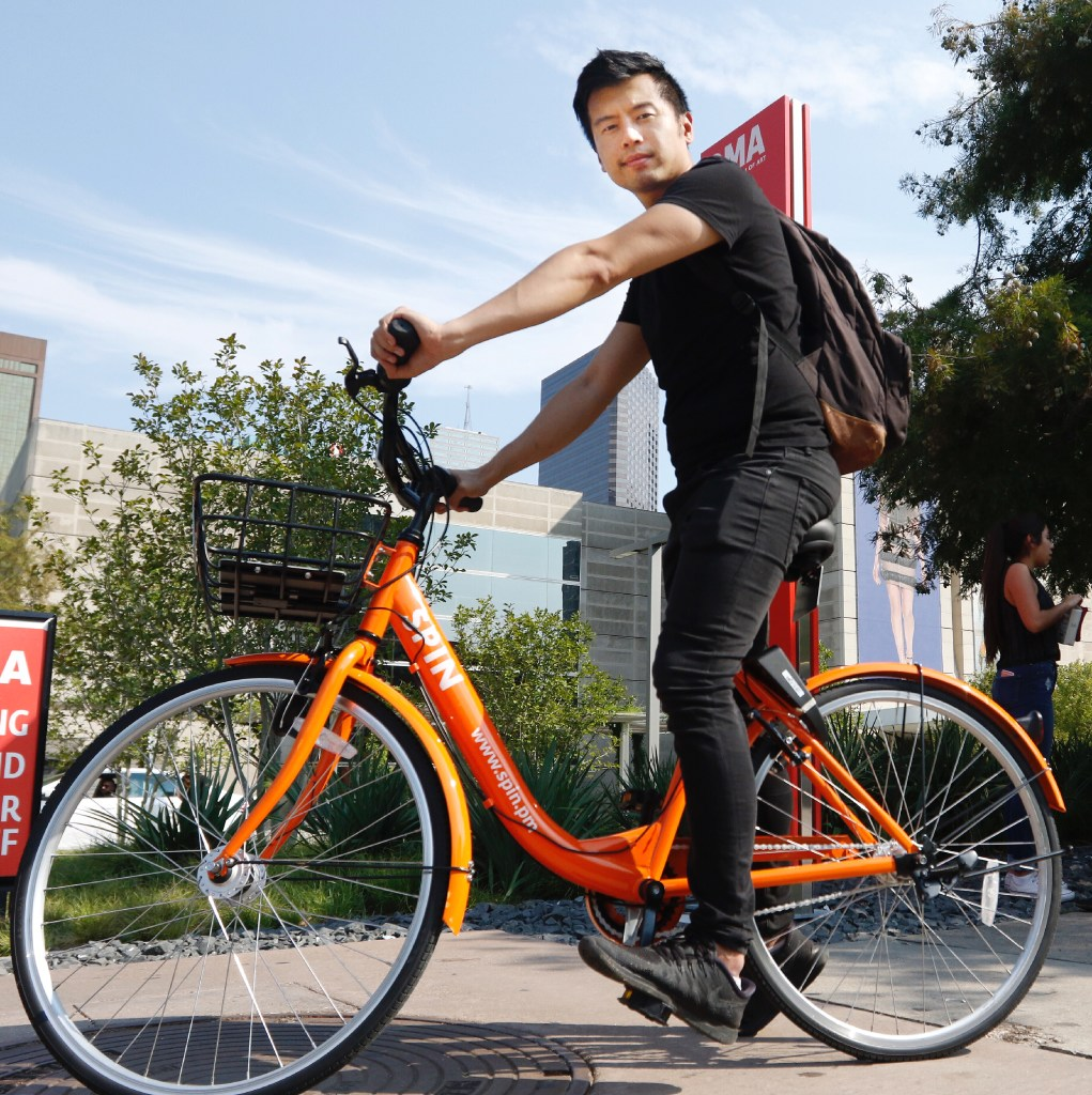 Dockless bike sharing lands in SSF