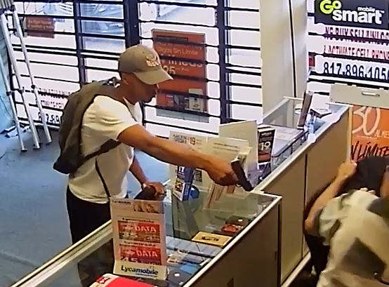 Would-be armed robbers foiled by Texas store owner and son
