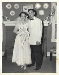 Carole, who went to Ursuline Academy, and Frank, who went to Highland Park High School, first met in 1950. They married in 1952 and are now celebrating 65 years of marriage.(/)