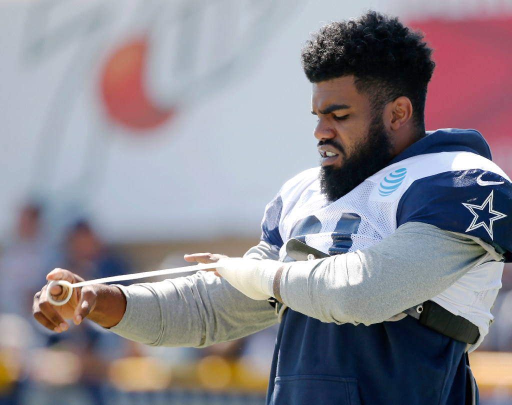 NFL's ruling on Cowboys' Ezekiel Elliott expected soon