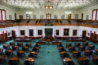 The Texas Senate on July 17 at the Texas state capitol in Austin.(Ashley Landis/Staff Photographer)