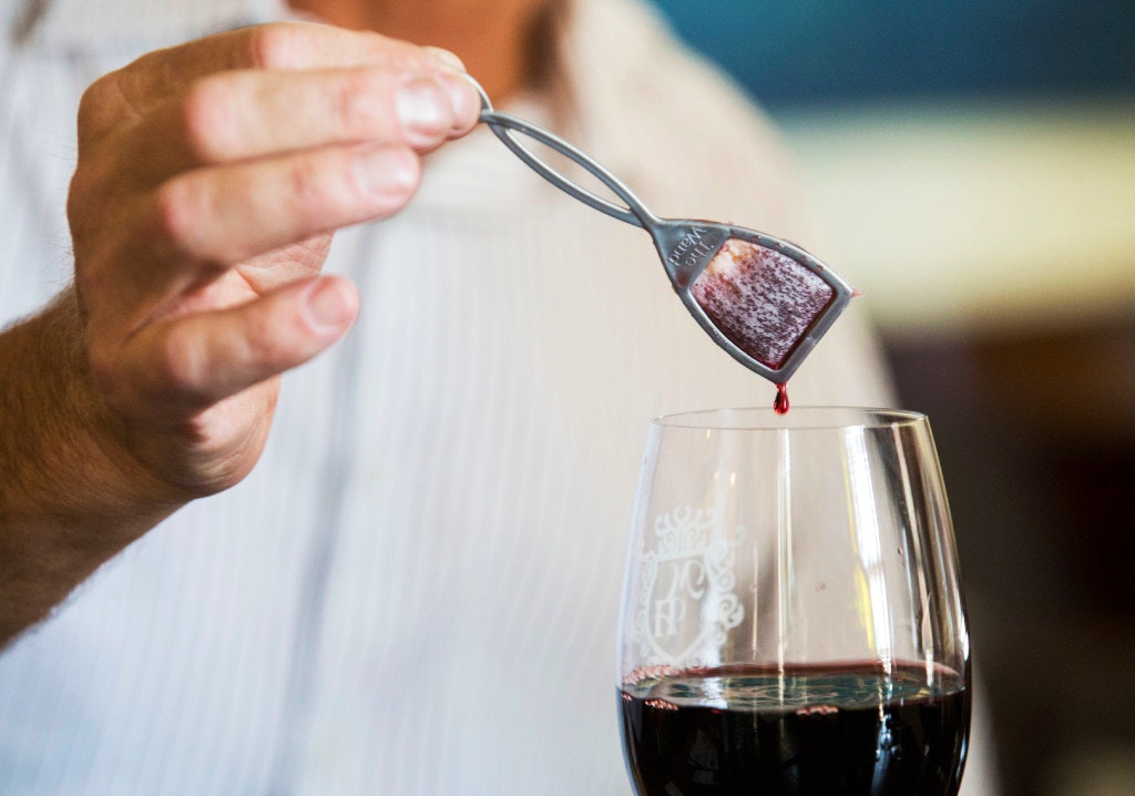 prone to wine hangovers? grapevine startup says its wand can help ...