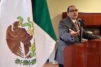 "<p><span style=""font-size: 1em; background-color: transparent;"">Dallas Mexican Consul Francisco de la Torre.</span></p>(Ben Torres/Special Contributor)"