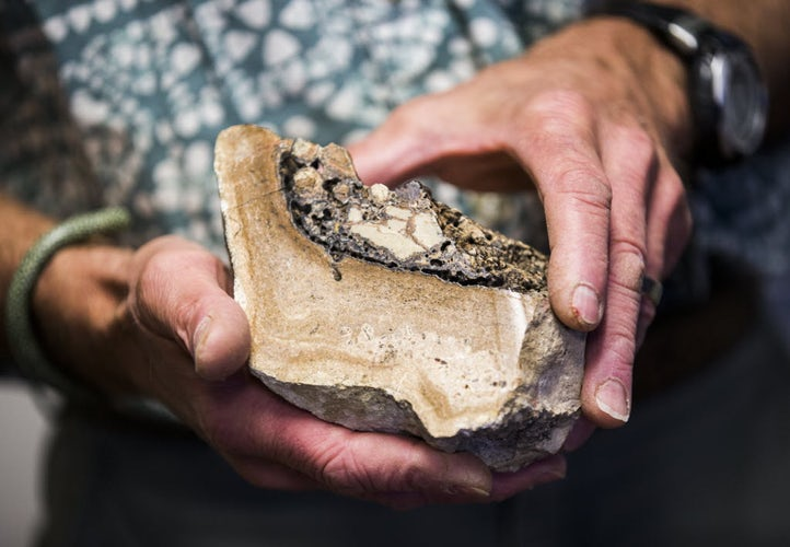 Dallas-area rock collector may have found traces of an ancient