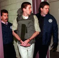 Timothy McVeigh was convicted of murder in the April 19, 1995, Oklahoma City bombing and executed.(1996 File Photo/The Associated Press)
