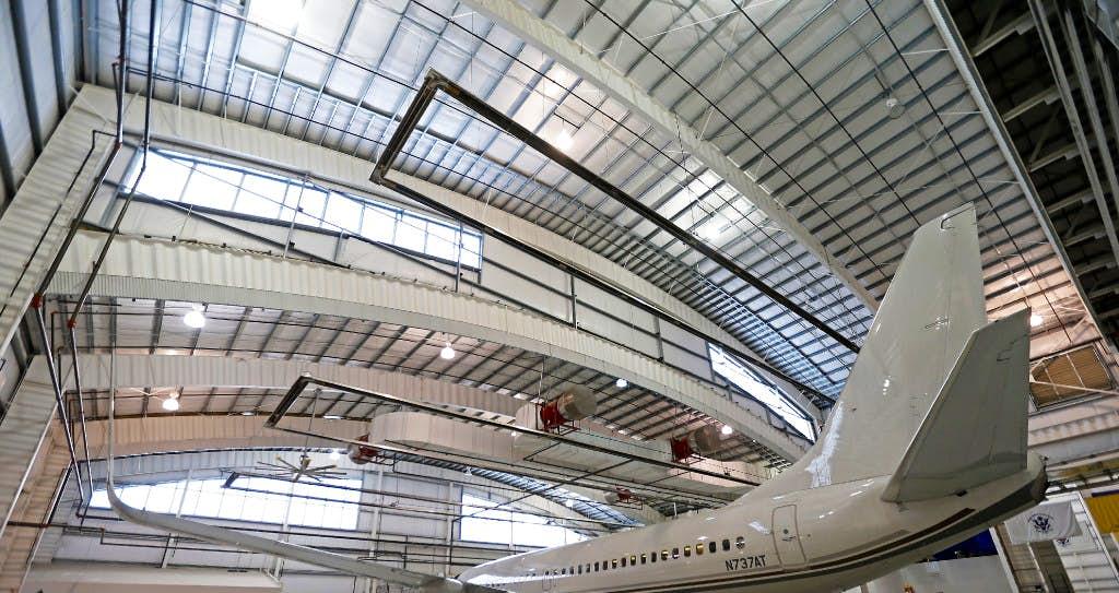Dfw Hangar Gets An Upgrade