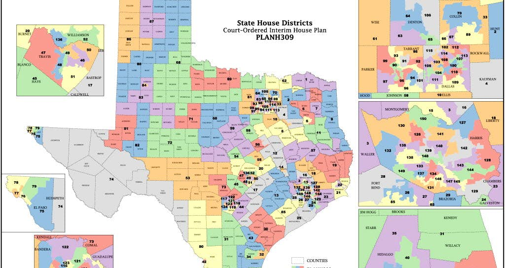 Federal court orders texas congressional map redrawn finding the associated press gumiabroncs Choice Image