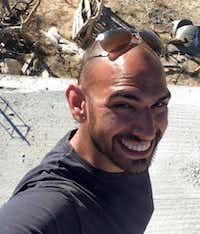 <p>Elijah Hernandez poses for a selfie at a worksite in Cabo San Lucas while on a mission trip. Hernandez went missing in January 2015. (Courtesy of Teresa Hernandez)</p>