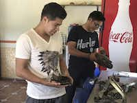 """<p><span style=""""font-size: 1em; background-color: transparent;""""></span></p><p>Agustin and Andres Lopez<span style=""""font-size: 1em; background-color: transparent;"""">are studying to become engineers with plans to work at a $1 billion Toyota plant that's under construction nearby.</span></p>(Alfredo Corchado/The Dallas Morning News)"""