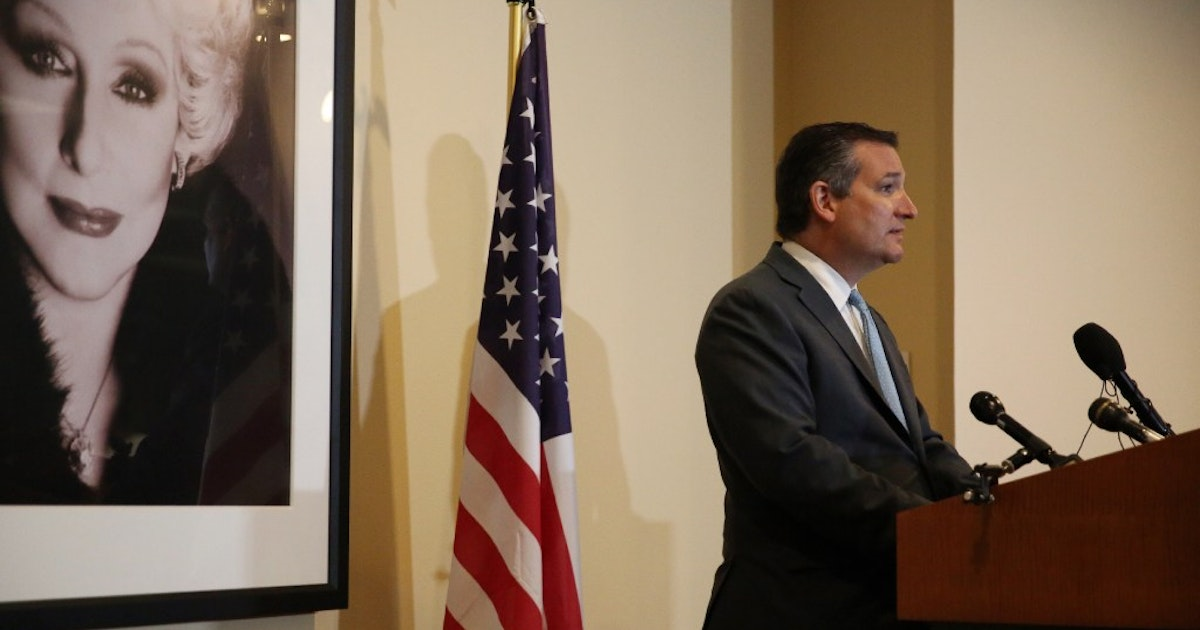Ted Cruz says Americans should not 'sanitize history' by taking down  Confederate monuments.