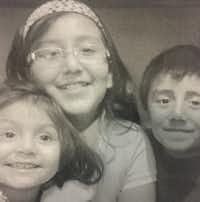 Lizbeth, Pamela and Bryan Mendoza(Courtesy of the family )