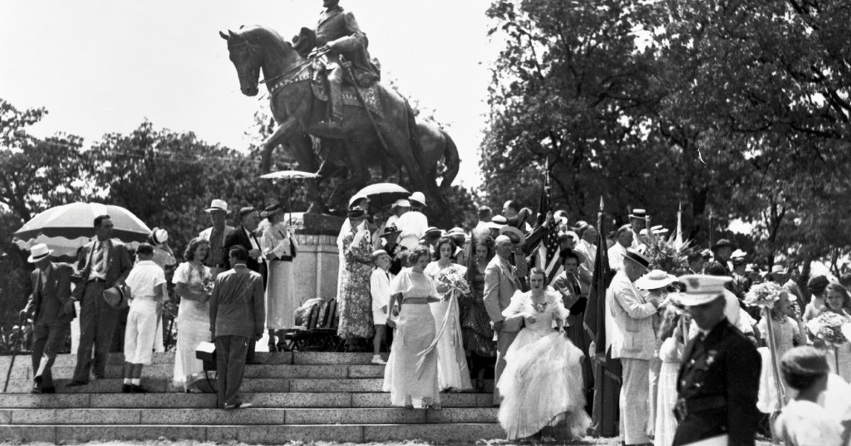 Flashback: FDR unveiled Robert E. Lee statue without controversy in 1936