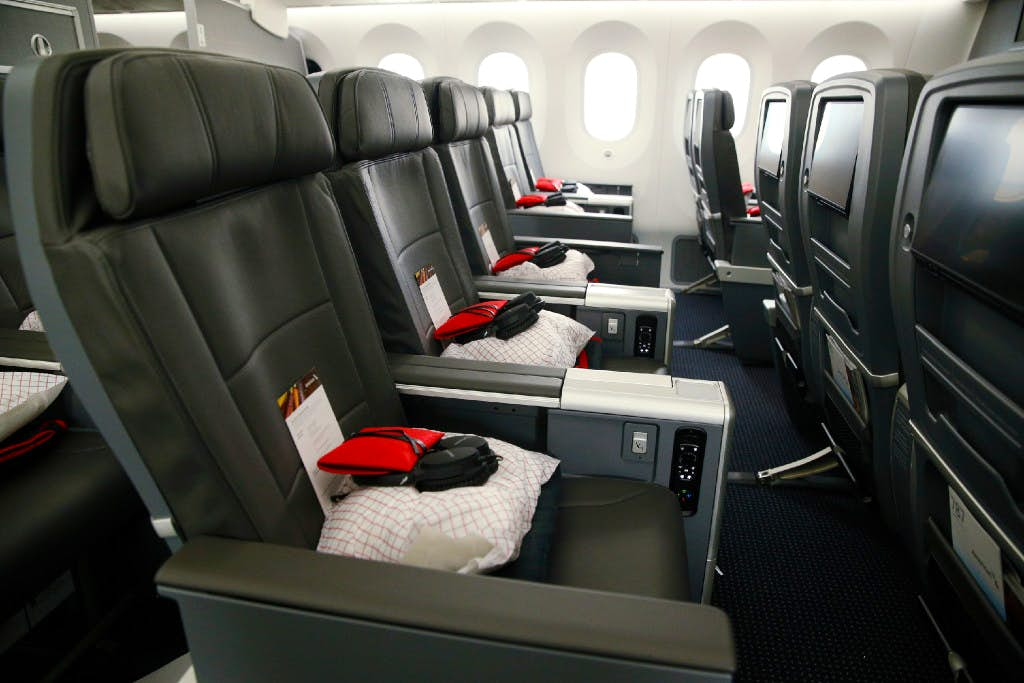 American Airlines brings roomier premium economy seats to