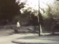 Surveillance footage of the man suspected of shooting a jogger early Tuesday morning in Cedar Hill. (Cedar Hill Police Department )