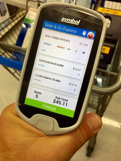 I took Wal-Mart's Scan & Go system for a test drive, and now I'm a