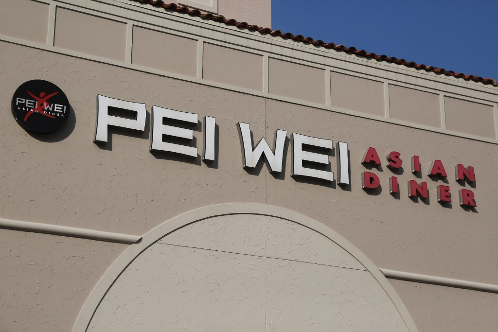 Pei Wei Asian Diner on Mc Kinney Avenue in Dallas on Aug. 7 2017