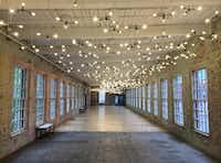 Mass MoCA  Massachusetts Museum of Contemporary Art    Spencer Finch installation(Mark Lamster)