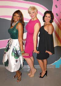 "<p><span style=""background-color: transparent; font-size: 1em;"">Sherel Riley, Tiffany Touchstone-Hawkins and Wendy Messmann co-chair the A Night to Remember event. The Sept. 9 fundraiser for CitySquare will welcome Jennifer Hudson as headliner.</span></p>(CitySquare)"