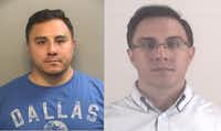 Left: Marvin Rodriguez after he was arrested in October 2015. Right: He was booked into the Tarrant County Jail on Thursday after he was convicted of murder. (Tarrant County Jail )