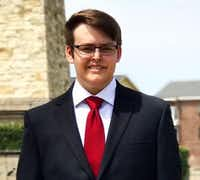 Blake Margolis, 18, was elected to the Rowlett City Council on Saturday.(Courtesy)