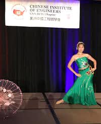 A cultural performance was part of the 2017 CIE/USA-DFW Annual Banquet Aug. 19 at the Renaissance Hotel in Richardson.(Staff /Deborah Fleck)