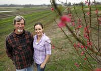 Jack and daughter Megan Neubauer own Pure Land Organic in McKinney.(Vernon Bryant/Staff Photographer)
