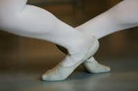 A dancer in a ballet class during the first day of school.(Andy Jacobsohn/Staff Photographer)