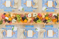 Courtney Whitmore wants to make hosting a party less intimidating and provides how-to instructions for more than a dozen occasions, including a sample tablescape; decor tips; and three to six recipes, in her latest book.(Evin Krehbiel)