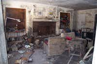 The living room of our home in the 5600 block of Marcia Ave in New Orleans in October 2005. The house was flooded after Hurricane Katrina hit the city in August 2005.(Courtesy/The Ferran Family)