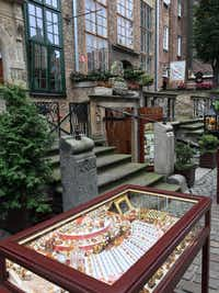 One of many amber shops in Gdansk, Poland (Sharon McDonnell)