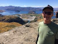 The author Joe Nick Patoski on the tramp in New Zealand.(Joe Nick Patoski/Special Contributor)