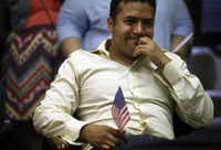 In 2012, Ramiro Luna was tearful as he watched President Barack Obama announce the initiative known as Deferred Action for Childhood Arrivals, or DACA. Luna, a Mexican immigrant, became a DACA beneficiary. (File Photo/The Dallas Morning News)