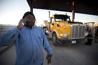 Danny Jones, a truck driver from Fort Worth, was finding work in December 2015 in Big Lake.(2015 File Photo/Fort Worth Star-Telegram)