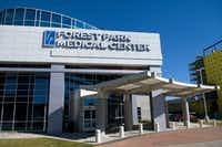 Forest Park Medical Center in Dallas before it went out of business. (File Photo/STaff)