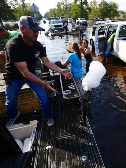 Helicopters, pickups and airboats: How your donations are