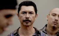 "Lou Diamond Phillips in a scene from ""Filly Brown."" (John Castillo/The Associated Press)"