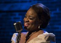 Denise Lee is best known in Dallas-Fort Worth theater for her singing roles, including her critically acclaimed  performance of Billie Holiday in 'Lady Day at Emerson's Bar & Grill' at the Jubilee Theatre in October, 2015.(Rex C. Curry/Special Contributor)