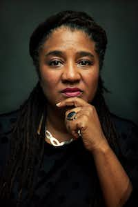 """Lynn Nottage, the first woman to win two Pulitzer Prizes for drama. """"I'm taking the role of being a resister very, very seriously.""""(Jesse Dittmar/The Washington Post)"""