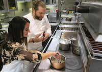 Where else but Las Vegas can you receive one-on-one cooking classes from the top chef of a Michelin-starred restaurant?(Michael Hiller)